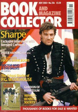 Book & Magazine Collector #236 2003 SHARPE Bernard Cornwell