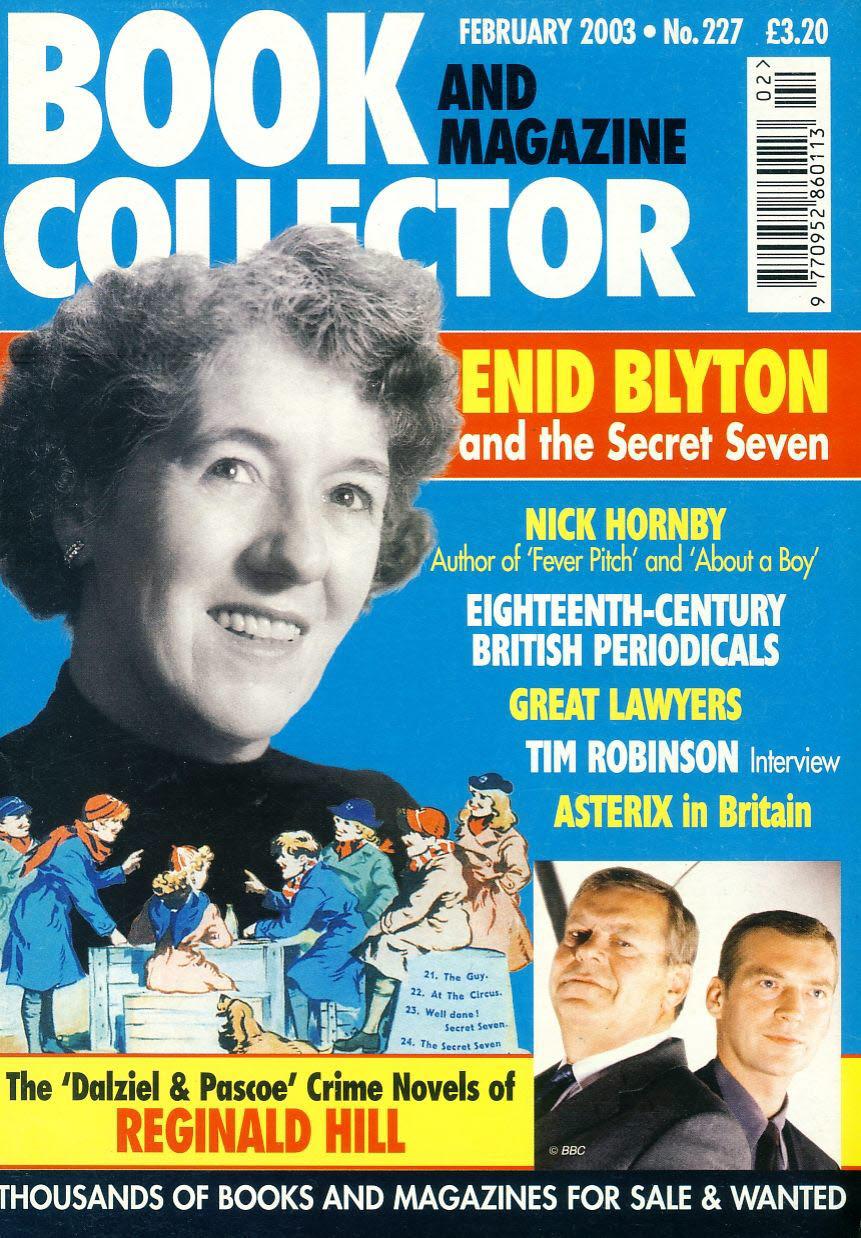 Book & Magazine Collector #227 2003 ENID BLYTON & Secret Seven