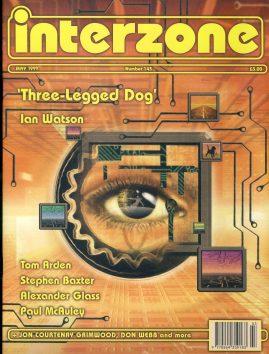 interzone #143 1999 magazine Three-Legged Dog Ian Watson