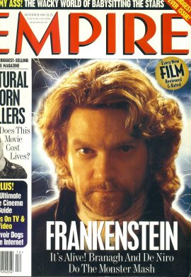 EMPIRE magazine December 1994 FRANKENSTEIN ref10078 Pre-owned in very good clean condition. Please see larger photo and full description for details.