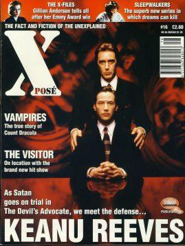 X POSE #16 Nov 1997 Keanu Reeves Devil's Advocate