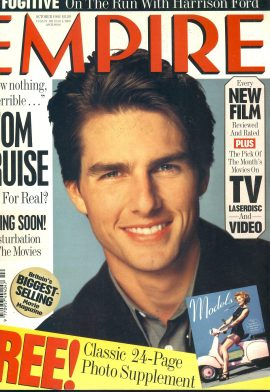EMPIRE magazine October 1993 TOM CRUISE  ref100332 Pre-owned in very good clean condition. Please see larger photo and full description for details.
