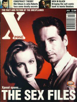X POSE #14 1997 The Sex Files