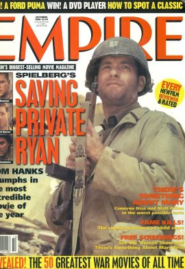 EMPIRE magazine October 1998 TOM HANK Saving Private Ryan ref10083 Pre-owned in good clean condition. Please see larger photo and full description for details.