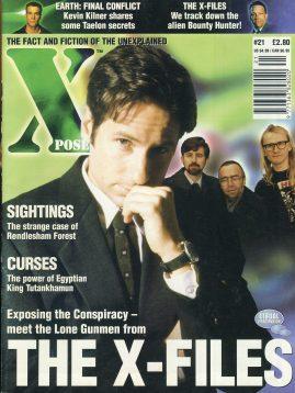 X POSE #21 1998 X-File David Duchovny