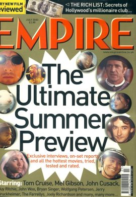 EMPIRE magazine July 2000 Tom Cruise