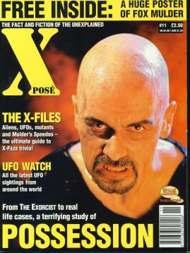 X POSE #11 1997 David Duchovny Fox Mulder UFO watch magazine ref100647 Pre-owned in good condition. Magazine ONLY