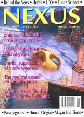 NEXUS New Times magazine Ice Age threat from Global Warming