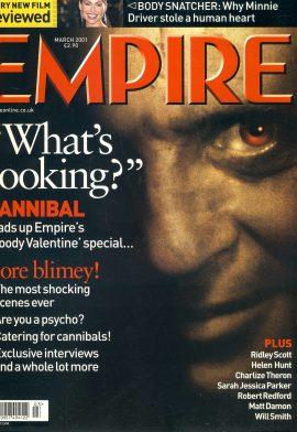 EMPIRE magazine March 2001 Minnie Driver