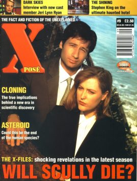 X POSE #9 1997 Jeri Lynn Ryan DARK SKIES magazine ref100649 Pre-owned in good condition. Magazine ONLY