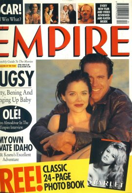 EMPIRE magazine April 1992 Warren Beatty BUGSY ref10090 Pre-owned in very good clean condition. Please see larger photo and full description for details.