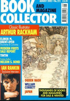 Book & Magazine Collector #221 Aug 2002 ARTHUR RACKHAM Illustrator