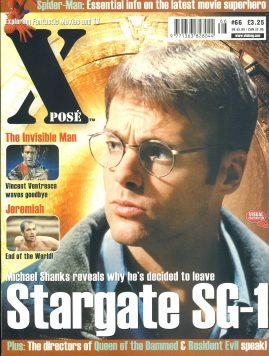 X POSE #66 Stargate SG-1 Michael Shanks