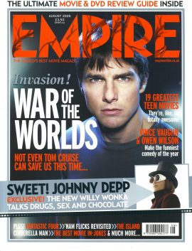 EMPIRE magazine August 2005 War of the Worlds ref10094 Pre-owned in very good clean condition. Please see larger photo and full description for details.