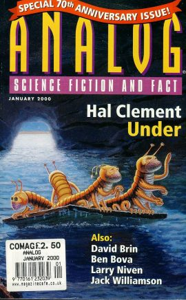 ANALOG Science Fiction & Fact Jan 2000 UNDER Hal Clement 70th Anniversary paperback book / magazine ref101453 This is a pre-owned paperback book / magazine in very good used condition. Magazine ONLY