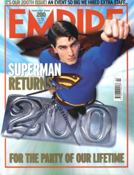 EMPIRE magazine February 2006 SUPERMAN RETURNS ref10096 Pre-owned in very good clean condition. Please see larger photo and full description for details.