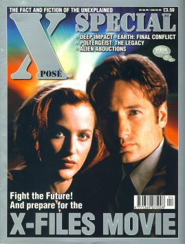 X POSE #4 SPECIAL X-Files movie magazine ref100658 Pre-owned in good condition. Magazine ONLY