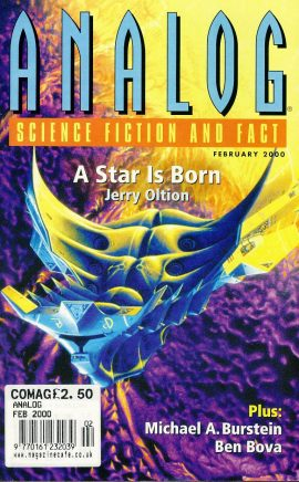 ANALOG Science Fiction & Fact FEB 2000 A Star is Born JERRY OLTION paperback book / magazine ref101454 This is a pre-owned paperback book / magazine in very good used condition. Magazine ONLY
