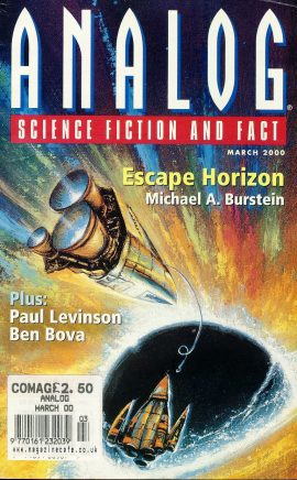 ANALOG Science Fiction & Fact MARCH 2000 ESCAPE HORIZON Michael A Burstein paperback book / magazine ref101455 This is a pre-owned paperback book / magazine in very good used condition. Magazine ONLY