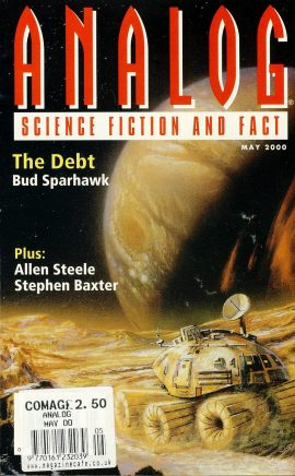ANALOG Science Fiction & Fact MAY 2000 THE DEBT Bud Sparhawk paperback book / magazine ref101457 This is a pre-owned paperback book / magazine in very good used condition. Magazine ONLY
