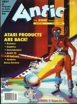 Antic ATARI Resource magazine 1986 with catalog still inside ref100444 Pre-owned in very good condition. See 2nd photo for contents. Please see larger photo and full description for details.