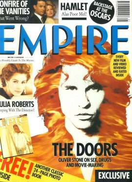 EMPIRE magazine May 1991 THE DOORS Julia Roberts  ref10101 Pre-owned in very good clean condition. Please see larger photo and full description for details.