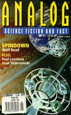 ANALOG Science Fiction & Fact JUNE 1998 SPINDOWN Wolf Read paperback book / magazine ref101458 This is a pre-owned paperback book / magazine in very good used condition. Magazine ONLY