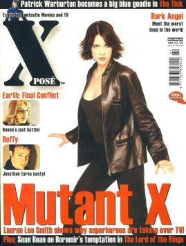X POSE #64 2002 Patrick Warburton
