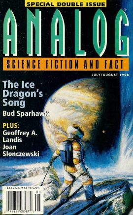ANALOG Science Fiction & Fact 1998 The Ice Dragon's Song BUD SPARHAWK Special Double Issue paperback book / magazine ref101459 This is a pre-owned paperback book / magazine in very good used condition. Magazine ONLY
