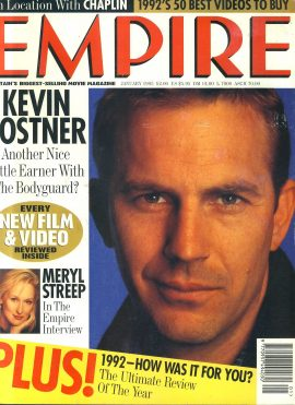 EMPIRE magazine January 1993 KEVIN COSTNER