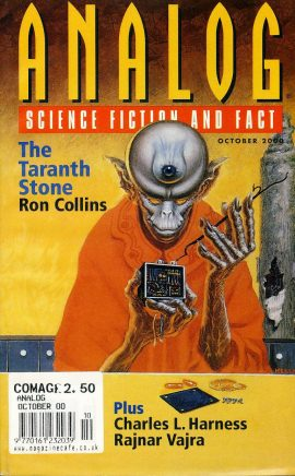 ANALOG Science Fiction & Fact OCT 2000 The Taranth Stone RON COLLINS paperback book / magazine ref101460 This is a pre-owned paperback book / magazine in very good used condition. Magazine ONLY