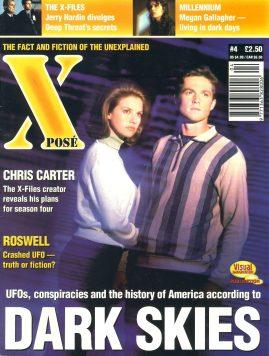 X POSE #4 1996 Jerry hardin