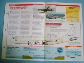 Modern Combat Aircraft of the World Card 104 Boeing E 6 Mercury Submarine comms