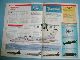 Modern Combat Aircraft of the World Card 45 AMX International