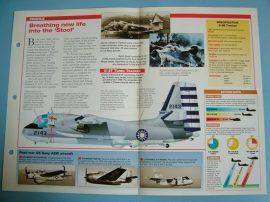 Modern Combat Aircraft of the World Card 52 Grumman S 2EFGUP Tracker