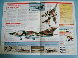 Modern Combat Aircraft of the World Card 54 Nanchang A 5 Fantan
