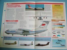Modern Combat Aircraft of the World Card 66 Ilyushin IL 76 Candid
