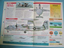 Modern Combat Aircraft of the World Card 68 Grumman E 2 Hawkeye