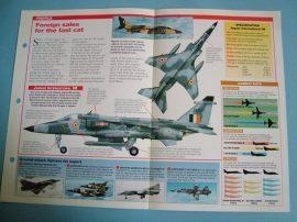 Modern Combat Aircraft of the World Card 71 Sepecat Jaguar International