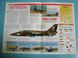 Modern Combat Aircraft of the World Card 84 CNIAR  SOKO IAR 93J 22 ORAO