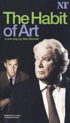 The Habit of Art by Alan Bennett NT Richard Griffiths
