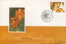 1997 Floral Greetings Flower Stamp KEW GARDENS Luxury First Day Cover refCD251 Not Sealed. No insert card. Please see larger photo and full description for details.