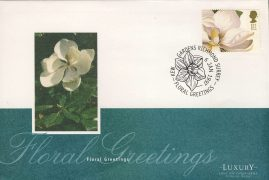 1997 Floral Greetings Flower Stamp KEW GARDENS Luxury First Day Cover refCD254 Not Sealed. No insert card. Crease on back flap. Please see larger photo and full description for details.