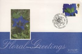 1997 Floral Greetings Flower Stamp KEW GARDENS Luxury First Day Cover refCD256 Not Sealed. No insert card. Please see larger photo and full description for details.