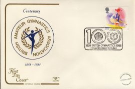 1988-03-22 Sport Stamps FDC Cotswold First Day Cover refCD276 No insert card. Please see larger photo and full description for details.