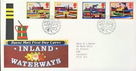 1993-07-20 Canals Inland Waterways Stamps FDC 99p cover refcd445 In good condition. With insert card. Please see larger photo and full description for details.