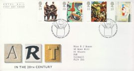 1993-05-11 Contemporary Art Stamps FDC 99p cover refcd446 In good condition. Sealed. With insert card. Please see larger photo and full description for details.