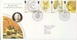 1993-02-16 Marine Timekeeping Stamps FDC 99p cover refcd447 In good condition. With insert card. Please see larger photo and full description for details.