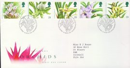 1993-03-15 Orchids Conference Stamps FDC 99p cover refcd448 In good condition. With insert card. Please see larger photo and full description for details.