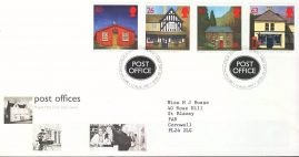 1997-08-12 Post Offices sub POs Stamps FDC 99p cover refcd449 In good condition. With insert card. Please see larger photo and full description for details.